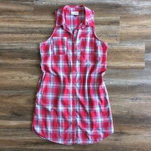 Universal Thread • plaid collared shirt dress